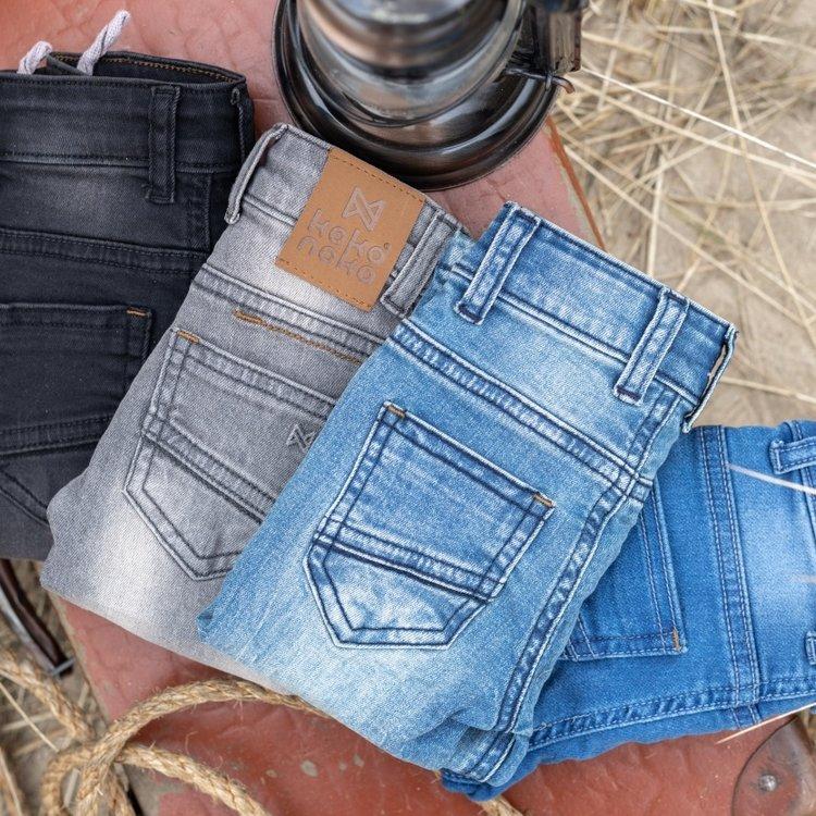 Koko Noko boys jeans Nox blue | N821