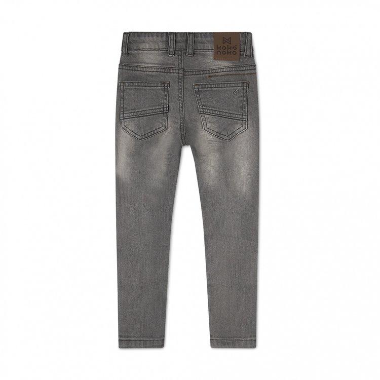 Koko Noko jongens jeans Nox grijs | N822