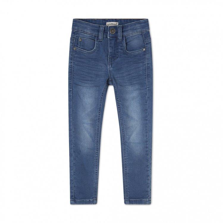 Koko Noko boys jeans Novan knit blue | N824