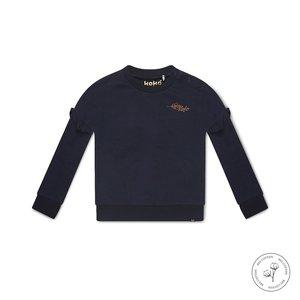 Koko Noko girls sweater Nova navy