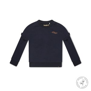 Koko Noko meisjes sweater Nova donkerblauw