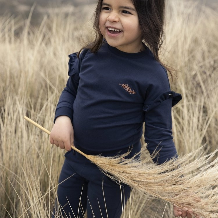 Koko Noko Sweatshirt Nova für Mädchen dunkelblau | N900