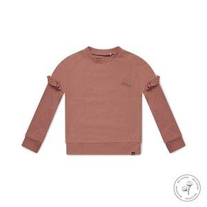 Koko Noko girls sweater Nova dusky pink