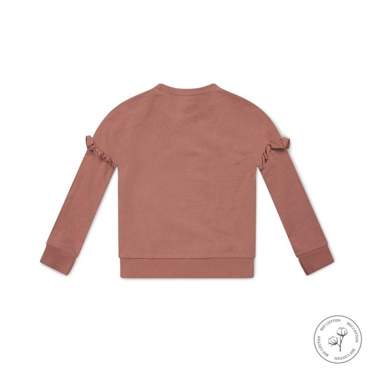 Koko Noko meisjes sweater Nova oudroze | N901