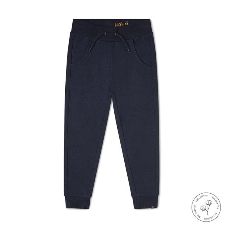 Koko Noko girls sweatpants Nikki navy | N903