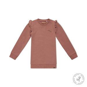 Koko Noko girls dress Nena dusky pink