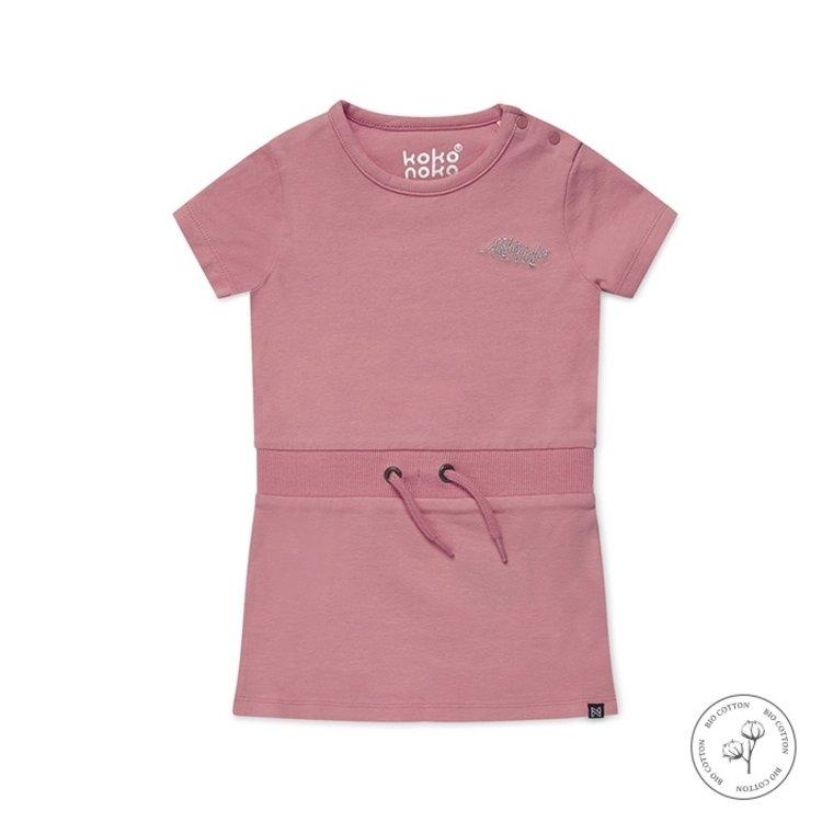 Koko Noko girls dress Nala pink | N909