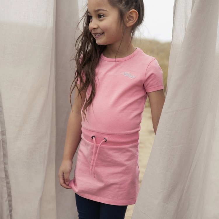 Koko Noko meisjes jurk Nala roze   N909