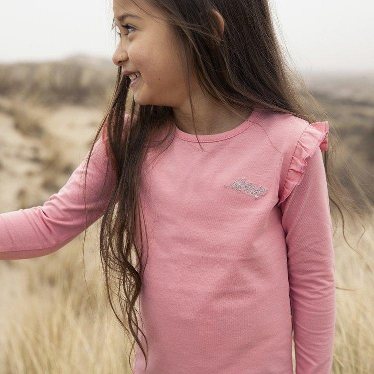 Koko Noko girls shirt long sleeves Nykee pink | N911