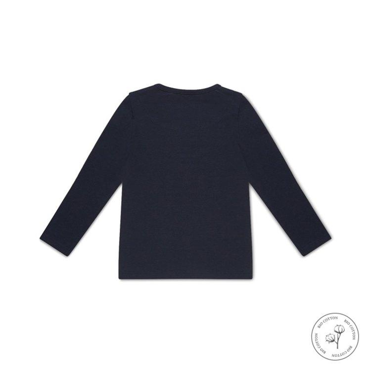 Koko noko meisjes shirt lange mouw Norah donkerblauw | N912