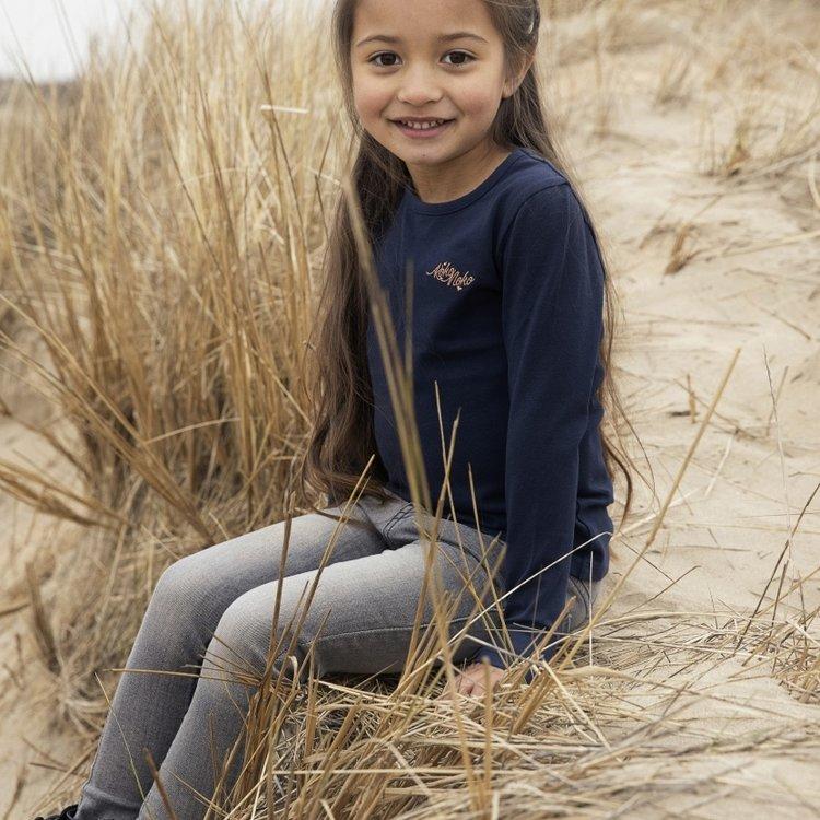 Koko Noko Langarmshirt Norah für Mädchen dunkelblau   N912