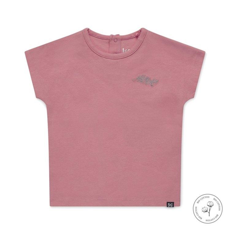 Koko noko meisjes T-shirt Noemi roze | N916