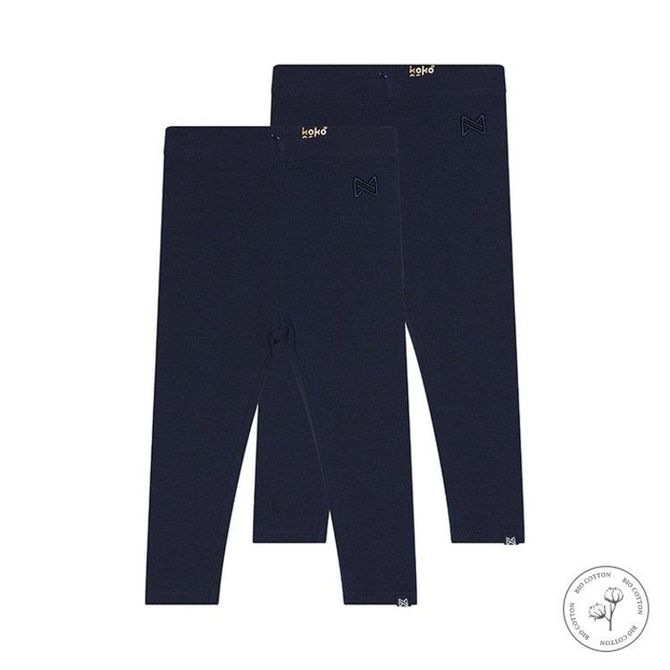 Koko Noko Legging Nadia für Mädchen dunkelblau 2er-Pack | N917