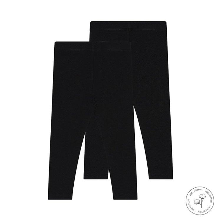 Koko Noko girls legging Nadia black 2-pack   N918