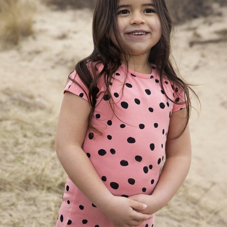 Koko Noko Kleid Niya für Mädchen rosa | N919