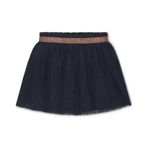Koko Noko girls pleated skirt Nika navy
