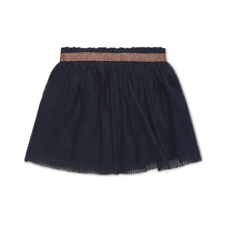 Koko Noko girls pleated skirt Nika navy   N921