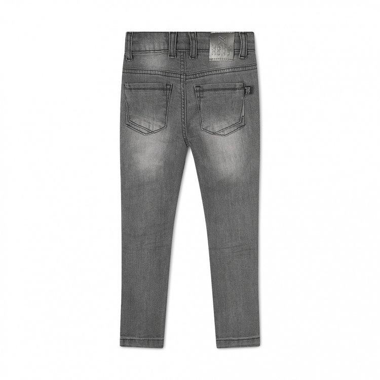 Koko Noko meisjes jeans Nelly grijs | N923