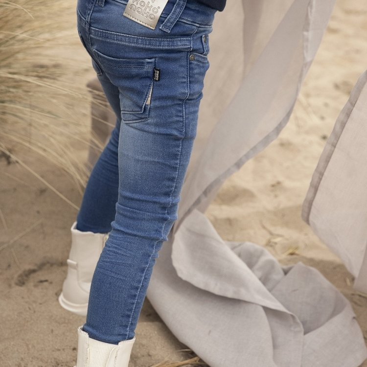 Koko Noko girls jeans Nori blue | N924