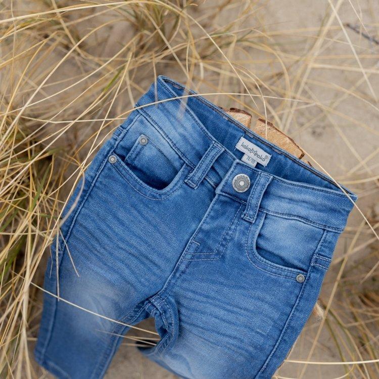 Koko Noko meisjes jeans Nori blauw   N924