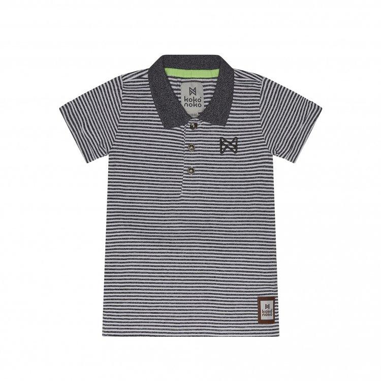 Koko Noko polo shirt stripe   E38883-37