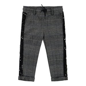 Koko Noko girls pants gray with checks