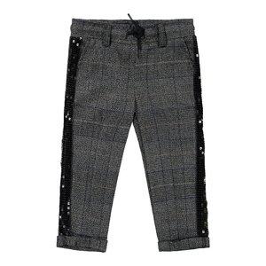 Koko Noko meisjes broek grijs met ruitjes