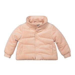 Koko Noko girls winter coat rib pink