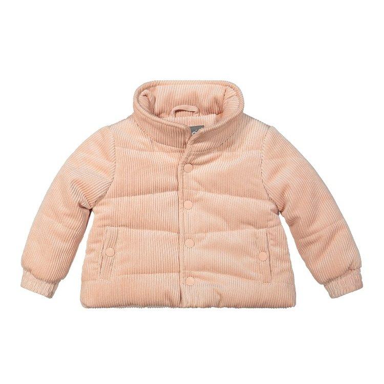 Koko Noko girls winter coat rib pink | F40904-37
