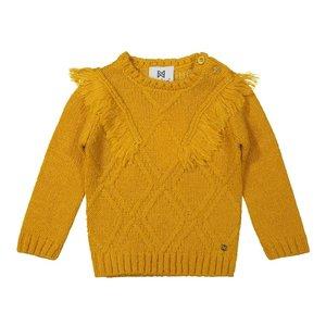 Koko Noko girls sweater ochre yellow