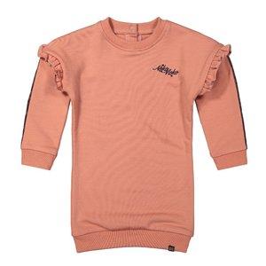 Koko Noko Mädchen Sweatkleid alt rosa Rüsche