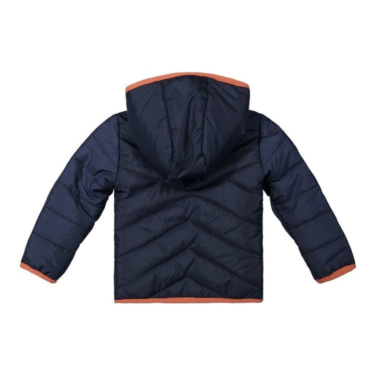 Koko Noko girls winter coat dark blue with hood   F40924-37