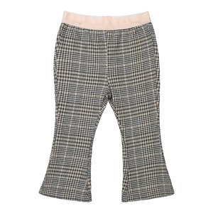 Koko Noko girls gray plaid flared pants