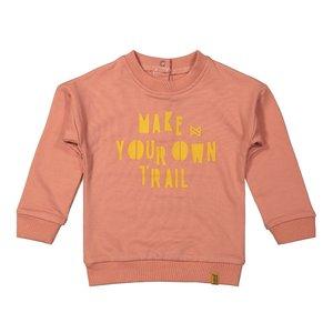 Koko Noko girls sweater old pink