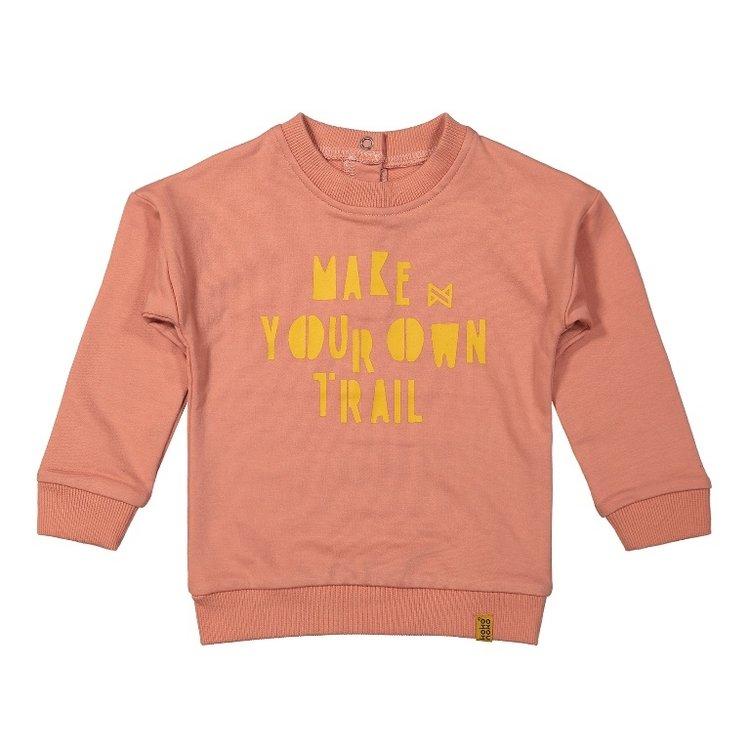 Koko Noko girls sweater old pink   F40922-37