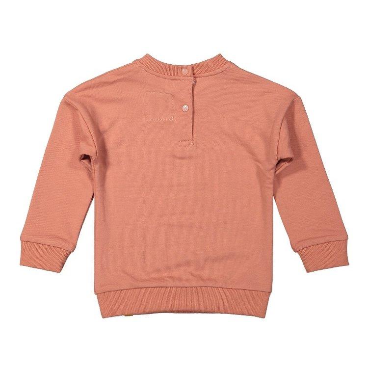 Koko Noko meisjes sweater oudroze | F40922-37
