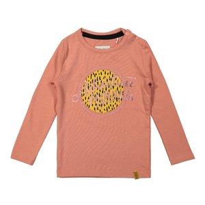 Koko Noko girls shirt old pink