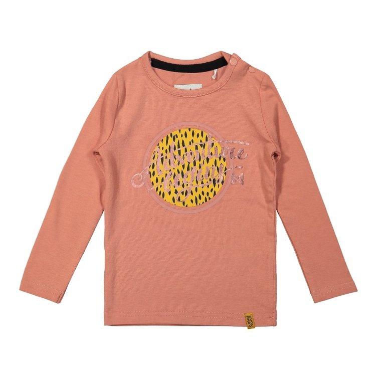 Koko Noko meisjes shirt oudroze   F40925-37