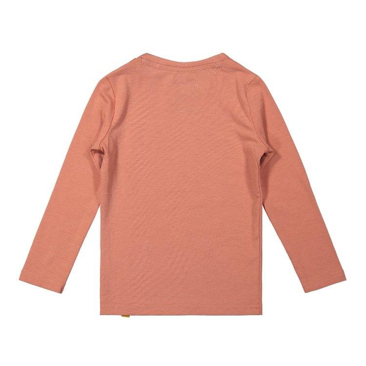 Koko Noko girls shirt old pink | F40925-37