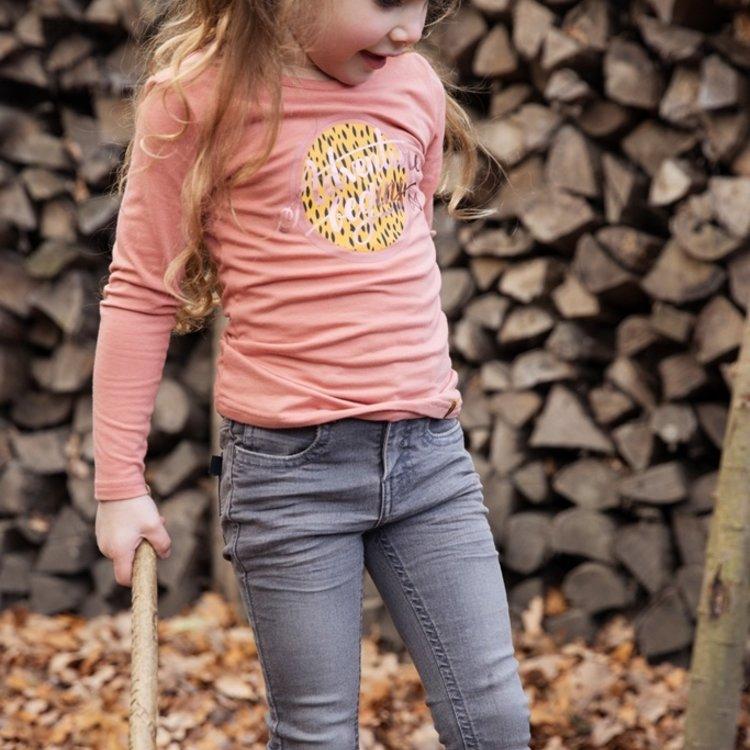 Koko Noko meisjes jeans grijs | F40928-37