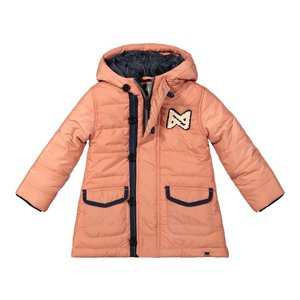 Koko Noko girls winter coat old pink with hood