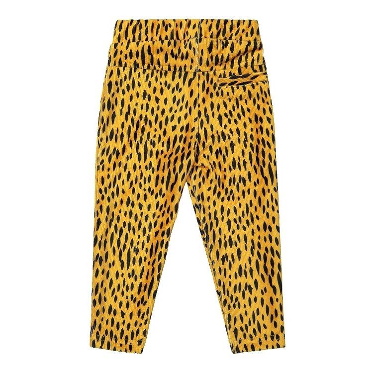 Koko Noko Mädchen Treggings ocker gelb Leopard Druck   F40934-37