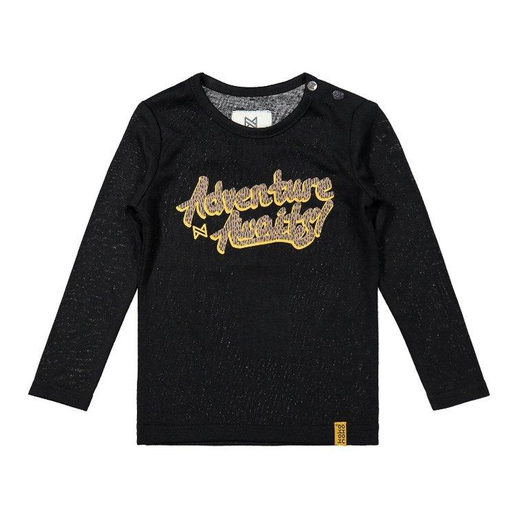 Koko Noko girls shirt black | F40941-37