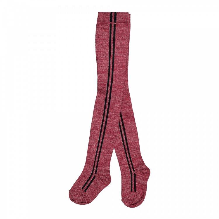 Koko Noko meisjes maillot 2-pack bordeaux rood en zwart   F40953-37