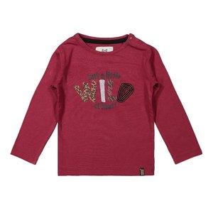 Koko Noko girls shirt bordeaux red