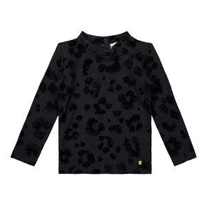 Koko Noko meisjes shirt zwart panter