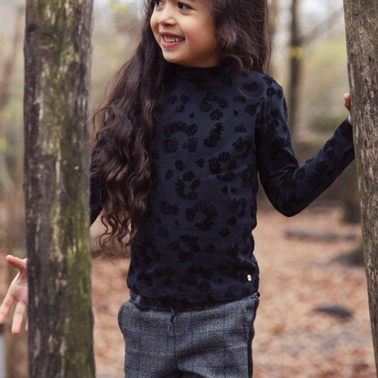 Koko Noko girls shirt black panther | F40967-37