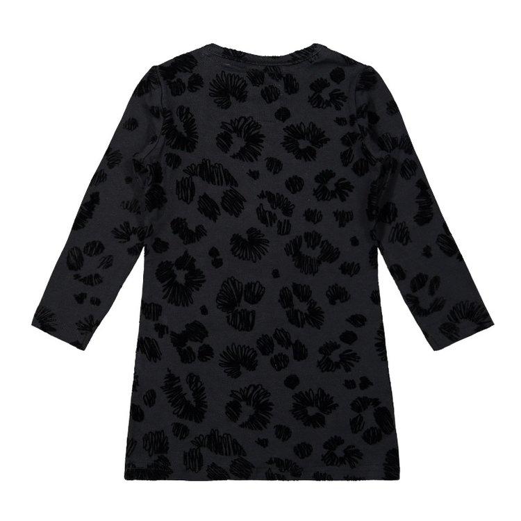 Koko Noko Mädchen Kleid schwarzer Panther | F40970-37