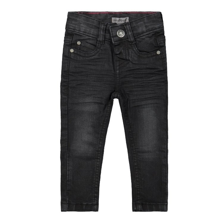Koko Noko girls jeans black   F40973-37