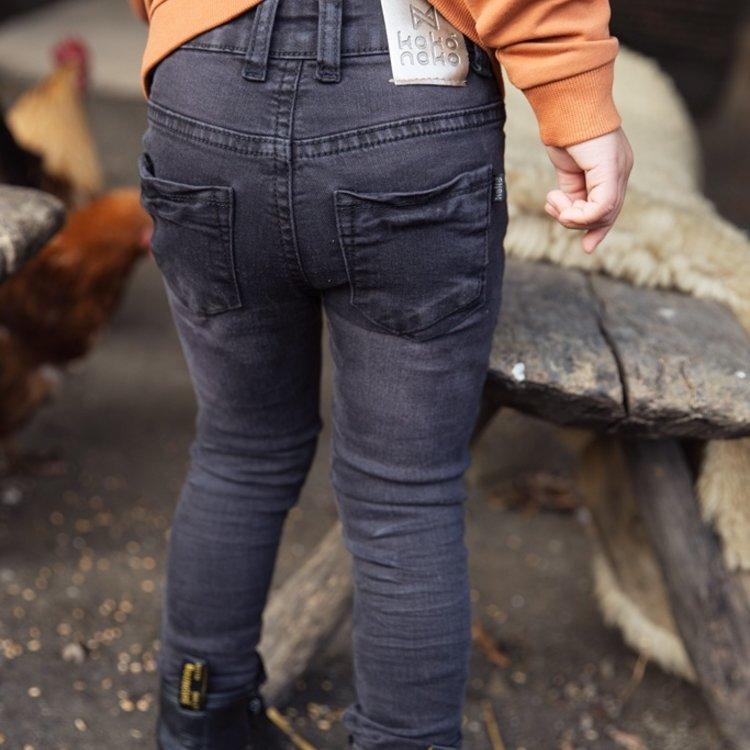 Koko Noko Mädchen Jeans schwarz | F40973-37